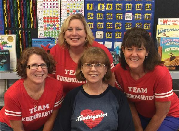 Mrs. Abt, Mrs. Alloway, Mrs. Reed, and Ms. Zehm