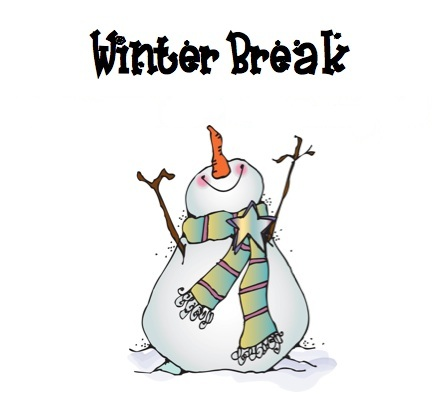 Winter Break - December 12 through January 4