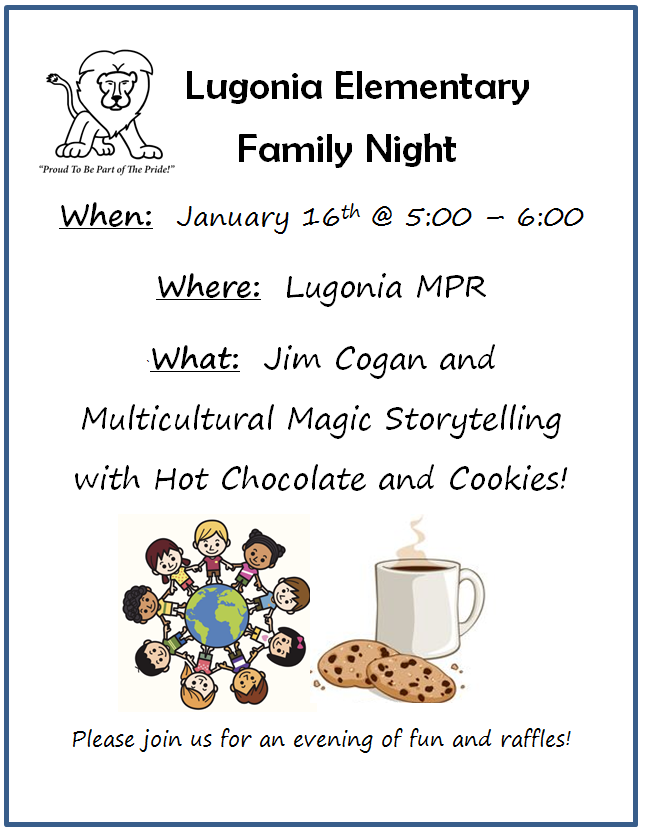 Lugonia Family Night!
