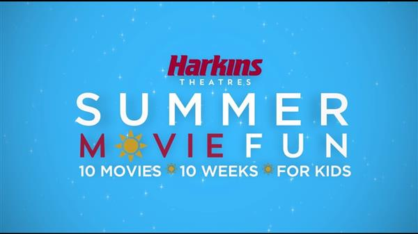 Harkins Summer Movie Passes on Sale Now