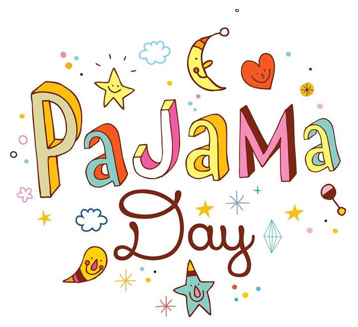 Spirit Pajama Dress Up Day Friday Dec. 14th