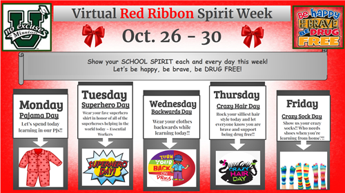 Virtual Red Ribbon Week