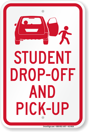Drop off and pick-up