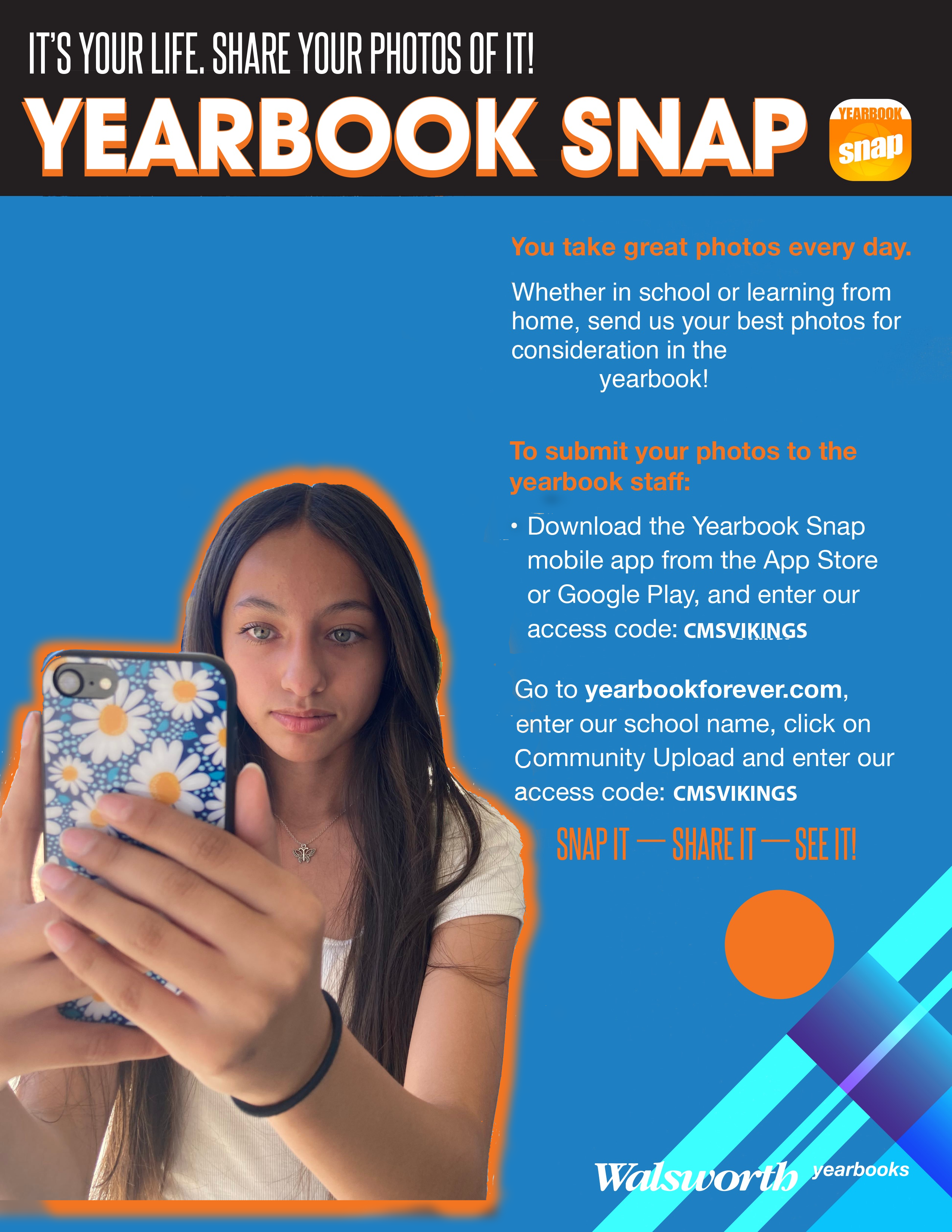 Be a yearbook contributor!