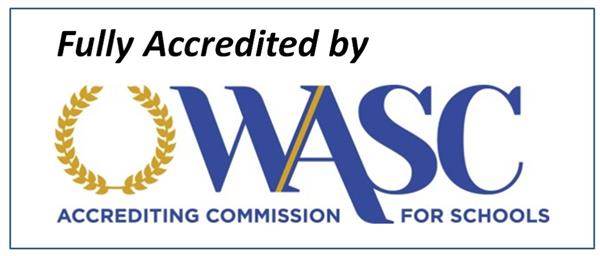 CVHS has been fully accredited by WASC for 2019!
