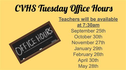 Office Hours 2018-2019