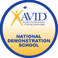 AVID demo school logo