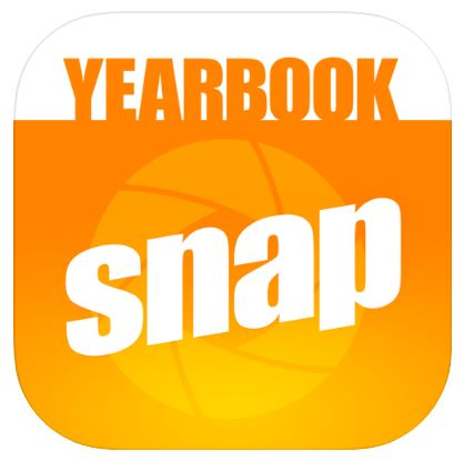 logo: yearbook snap
