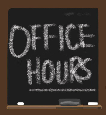 Teacher office hours!