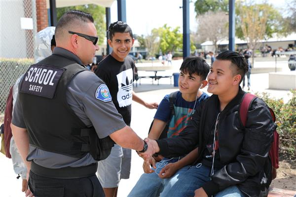 RUSD reinstates police officers at high schools