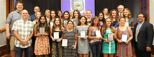 CIF Championship Girls Tennis Team from Redlands High School