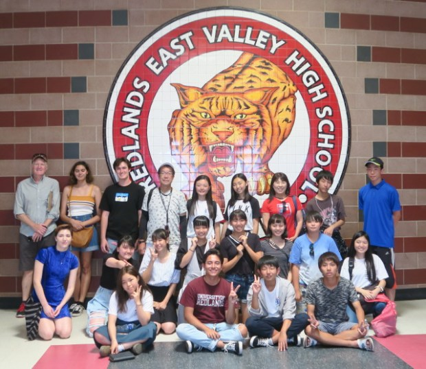 Redlands welcomes students from Hino, Japan, in cultural exchange program