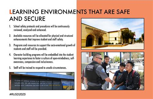 Learning Environments that are Safe an d Secure