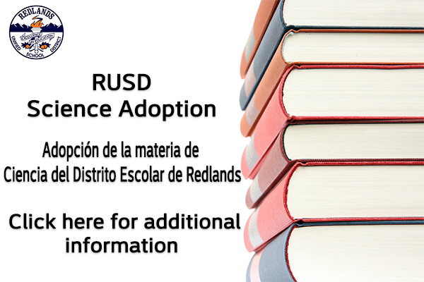 RedlandsUSD Science Adoption Information