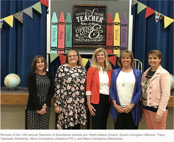 These Redlands teachers were honored for their excellence (Click for more)
