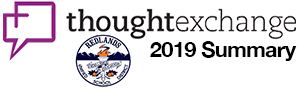 Thought exchange 2019 Summary