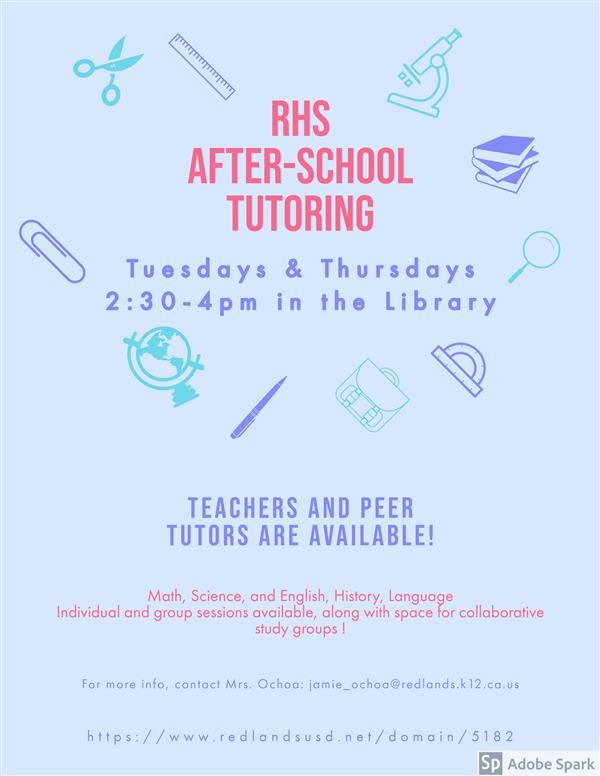 After-School Tutoring Flyer