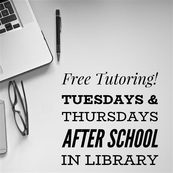 Free After-School Tutoring!