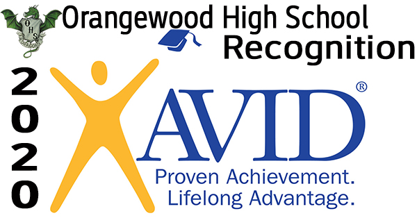 AVID Recognition - Orangewood High School Video Logo