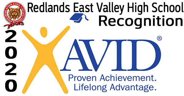 AVID Recognition - Redlands East Valley High School Video Logo