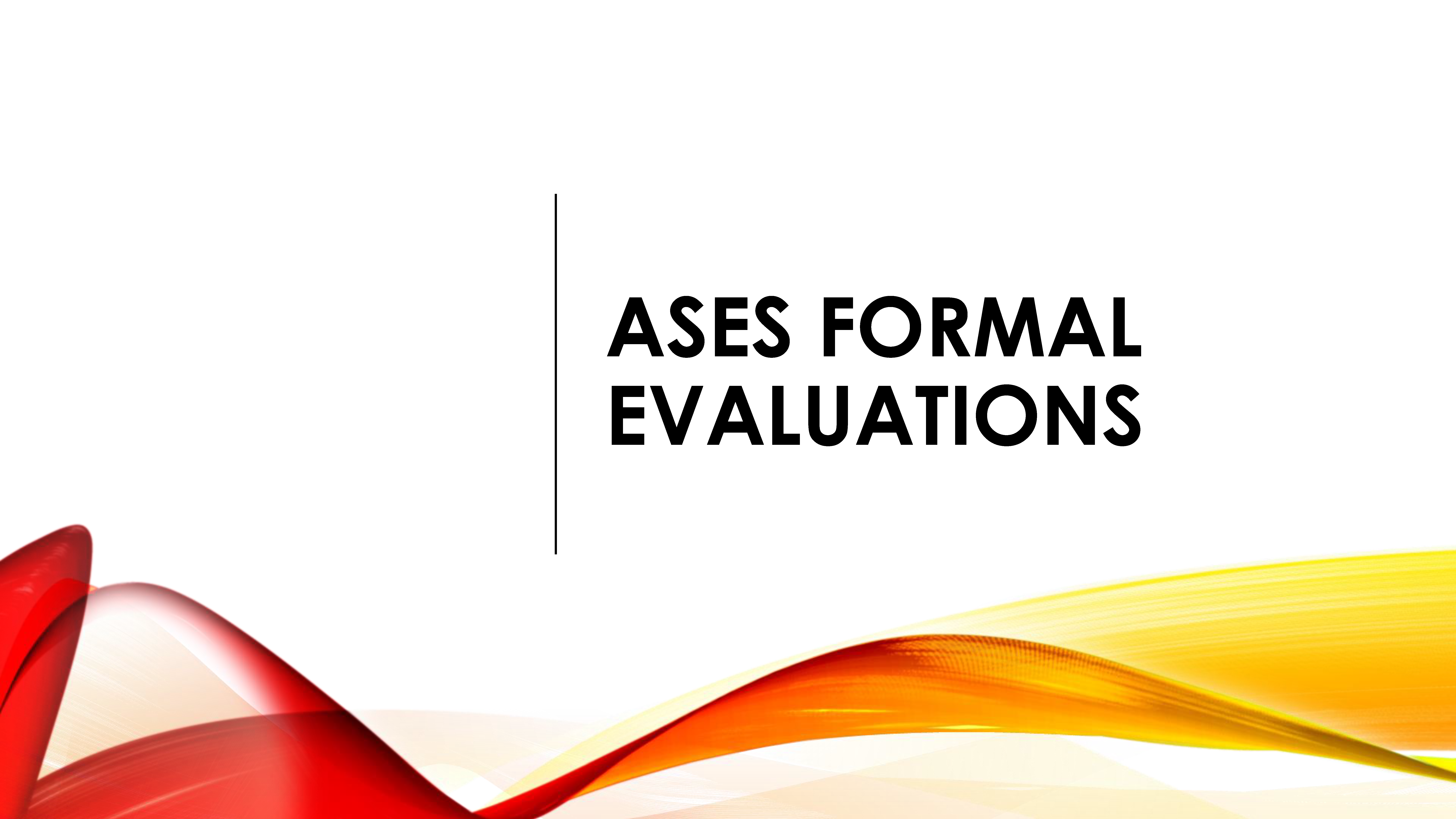 ASES Formal Evaluations Logo
