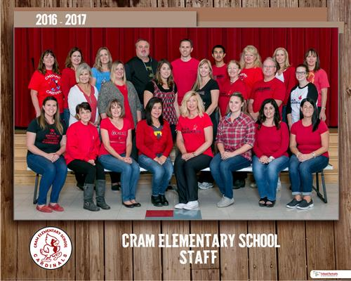 CRAM Staff Photo 2016 2017